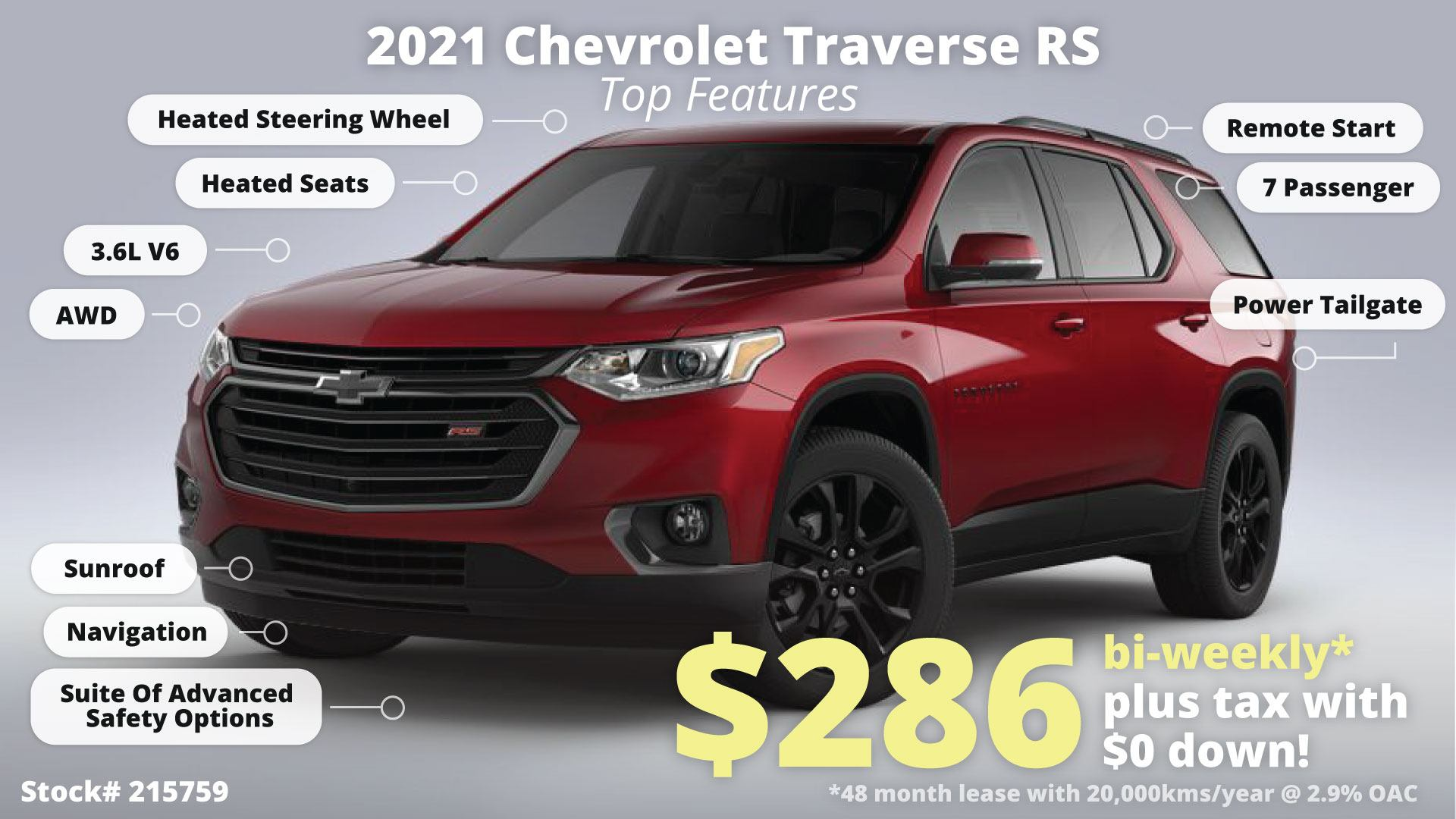 Chevy Traverse Feature